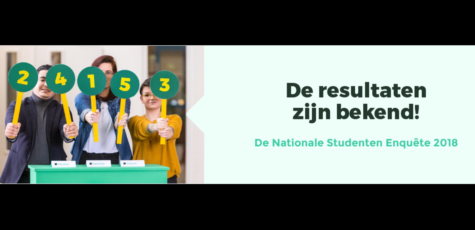 Resultaten Nationale Studenten Enquête 2018