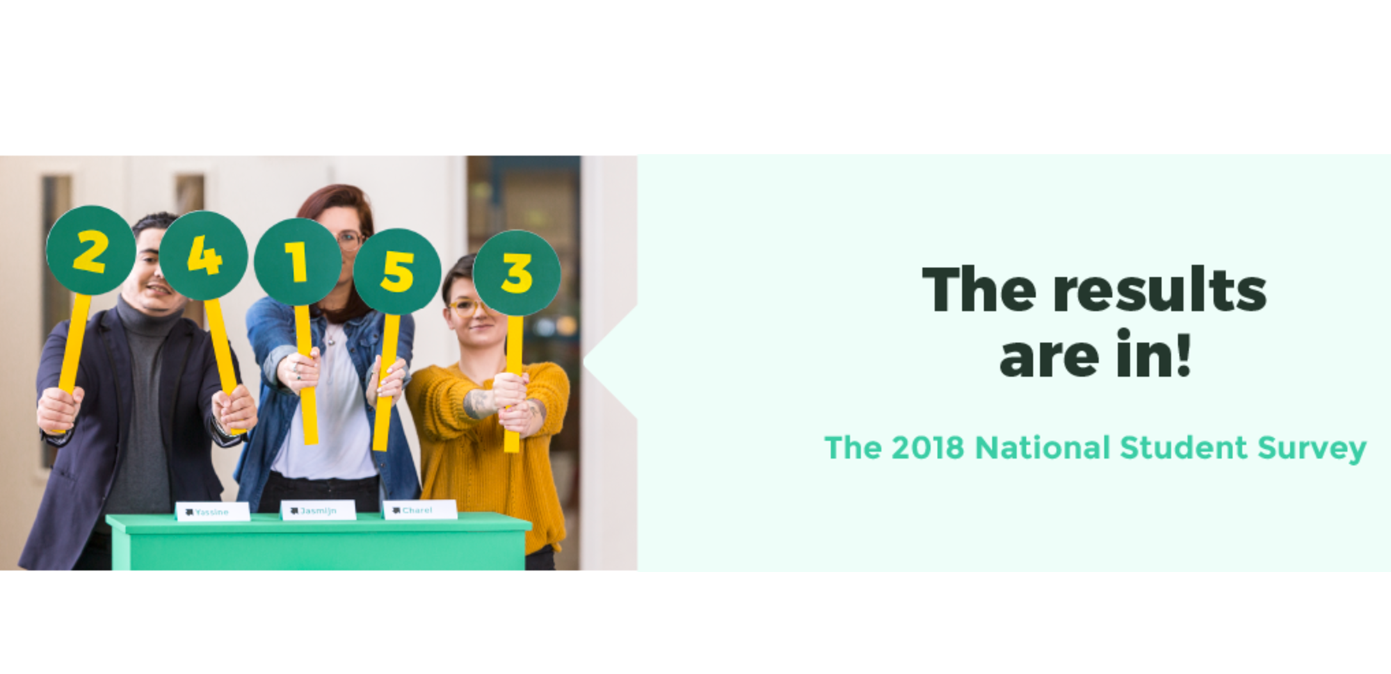 2018 National Student Survey Results